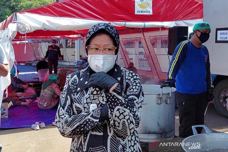 Mensos protes tak ada ASN bantu dapur umum di Balai Wyataguna Bandung
