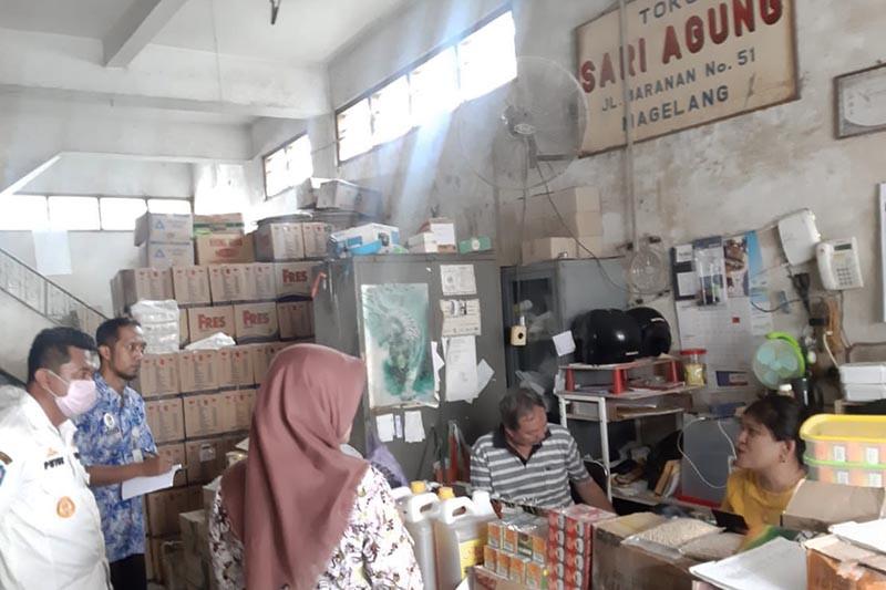 Disperindag Kota Magelang cegah aksi borong sembako