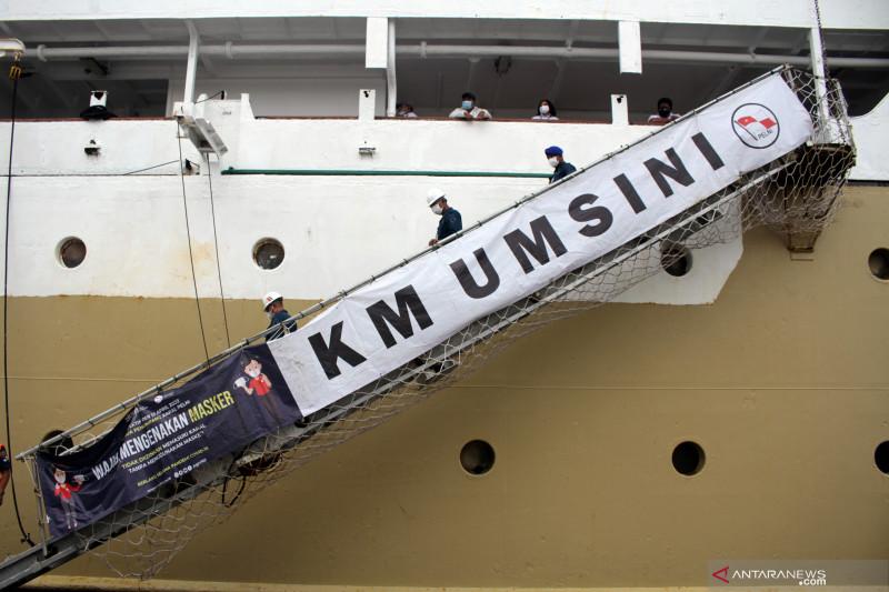 Pelni tengah rampungkan kesiapan kapal Umsini jadi tempat isolasi COVID-19