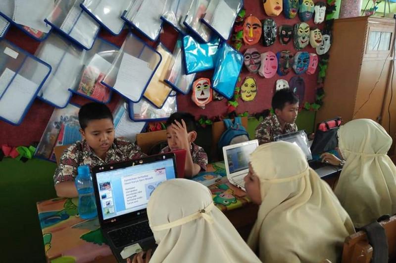 Sembilan siswa SDN 01 BPA Bukittinggi lolos  ke Final Lomba Nasional Kemendikbud bidang digital