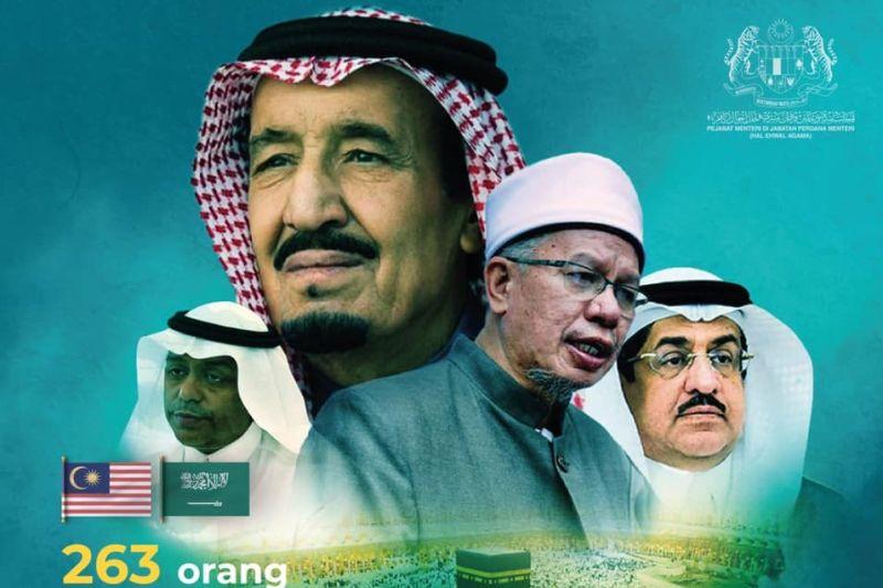 Arab Saudi loloskan 263 bakal jamaah haji dari Malaysia