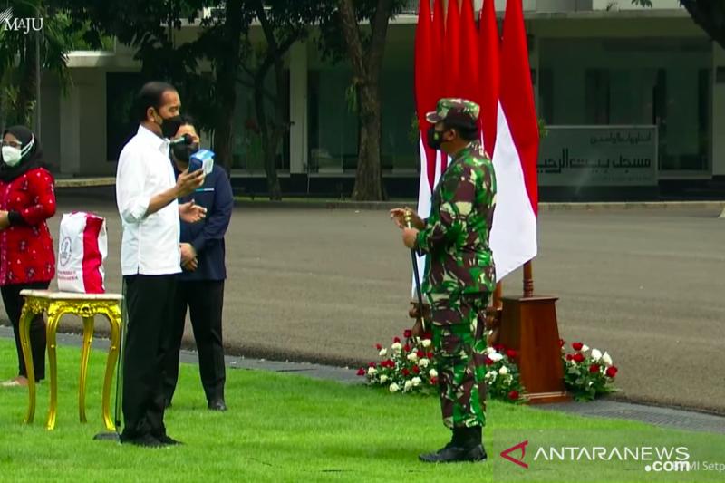 Presiden Jokowi perintahkan TNI distribusikan paket obat isoman gratis
