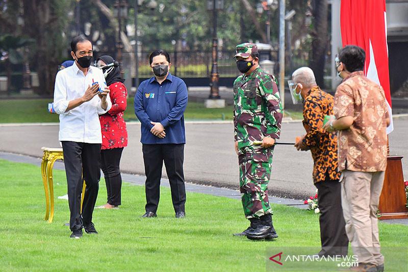 Panglima TNI jelaskan prosedur peroleh obat-vitamin gratis
