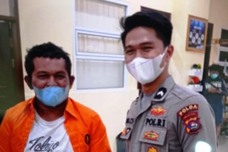 Usai ditangkap, Izet meminta maaf dan menyatakan khilaf atas perbuatannya (Video)