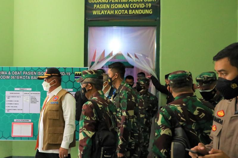 Kasatgas COVID-19 pastikan kesiapan isoman warga Kota Bandung