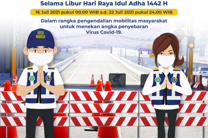 Jalan Layang MBZ tutup selama libur Idul Adha 1442 H
