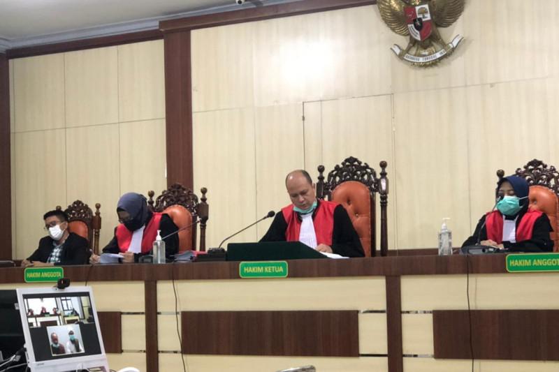Palsukan SKGR, Ketua KUD Sialang Makmur divonis satu tahun, bendaharanya bebas