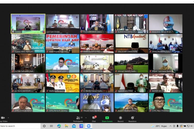 Plt Gubernur Sulsel usulkan 161 desa wisata pada ADWI 2021
