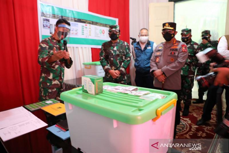 Panglima TNI pastikan kesiapan obat untuk pasien COVID-19 isoman di Bandung
