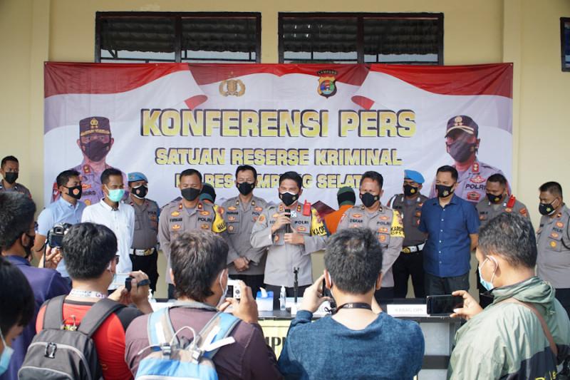 Polisi tangkap oknum ASN pungli rapid test antigen di Bakauheni