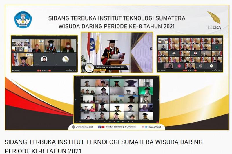 Itera wisuda 292 lulusan sarjana secara daring