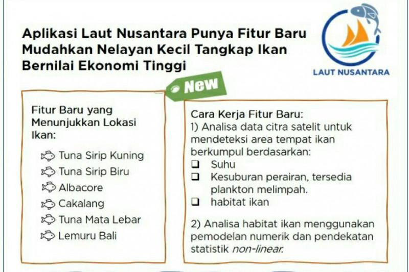 Aplikasi Laut Nusantara bisa deteksi lokasi ikan tuna