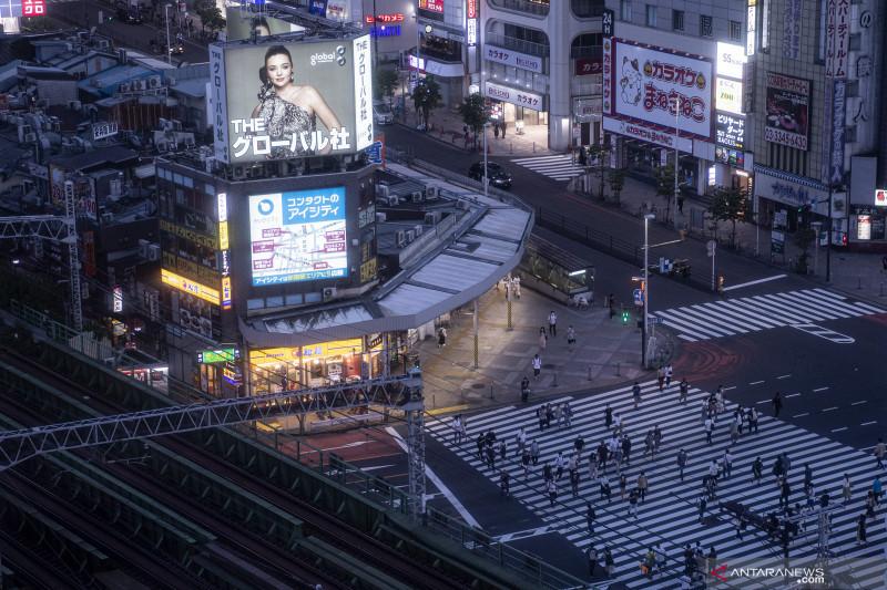 Altet Uganda yang hilang tertangkap kamera di stasiun Nagoya Jepang