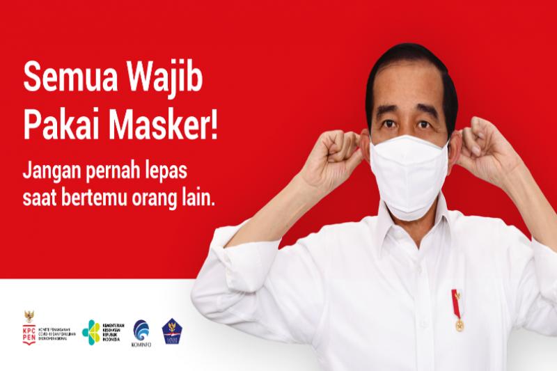 Semua pakai masker