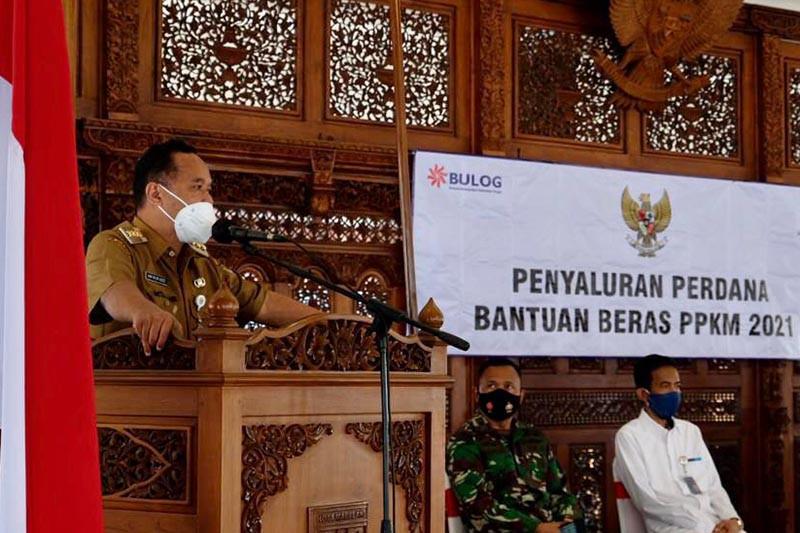 Pemkot Magelang salurkan bantuan beras Kemensos untuk 11.124 warga