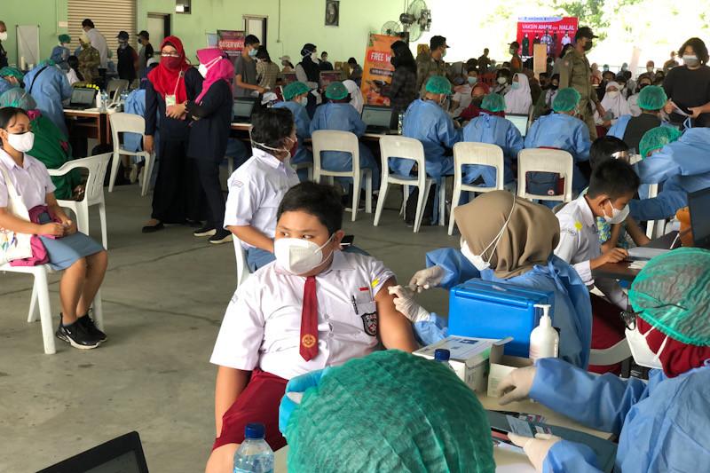 Yogyakarta percepat pelayanan vaksinasi COVID-19 bagi pelajar