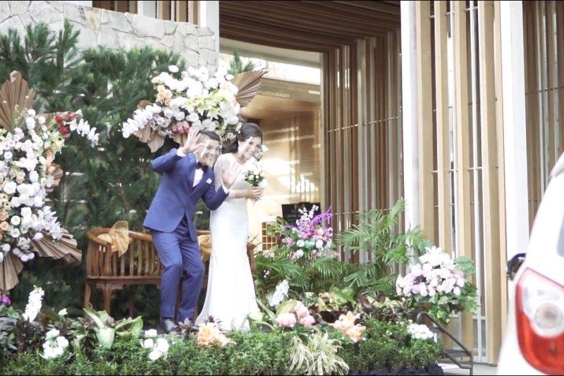 Nikah Saat Pandemi? Wedding Drive-Thru Aruna Senggigi Bisa Jadi Solusi