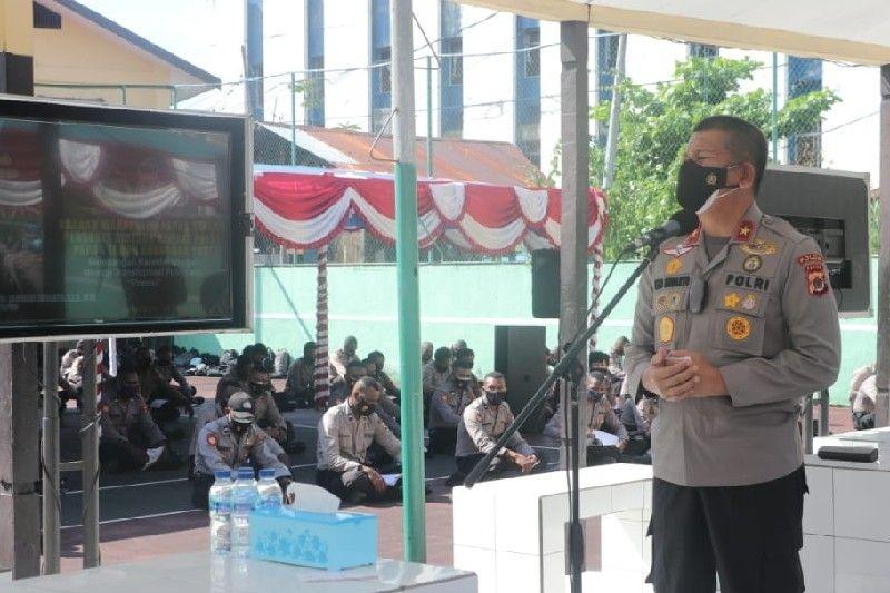 Wakapolda Papua bekali bintara baru Polri untuk pengamanan PON XX
