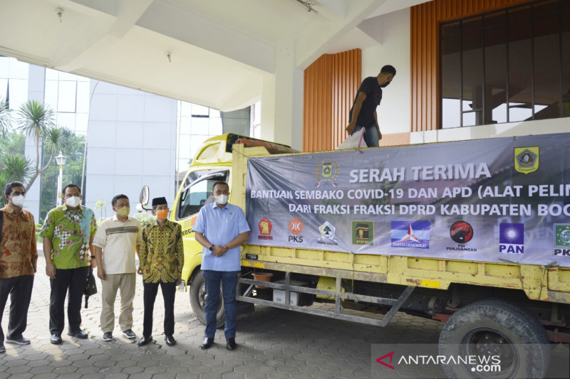 DPRD Bogor kumpulkan 60 ton beras bagi warga terdampak PPKM darurat