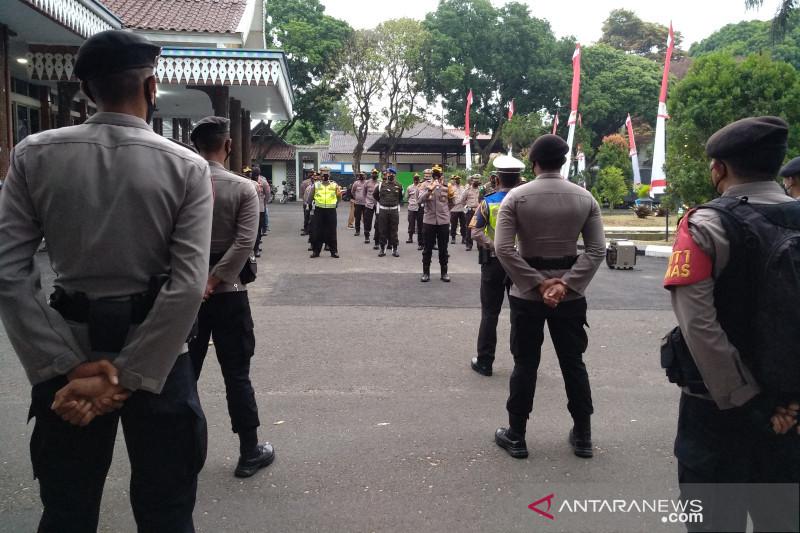 550 personel gabungan patroli pastikan tidak ada kerumunan