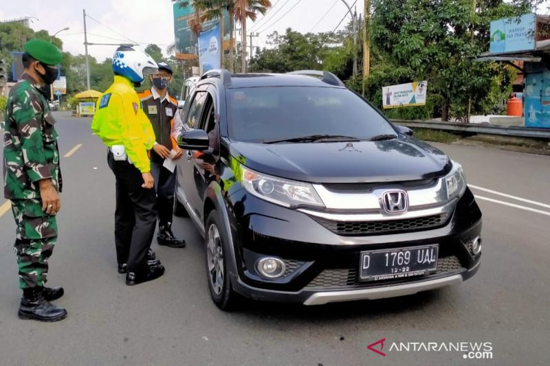 Satgas Bogor putar balik 5.679 kendaraan selama PPKM darurat
