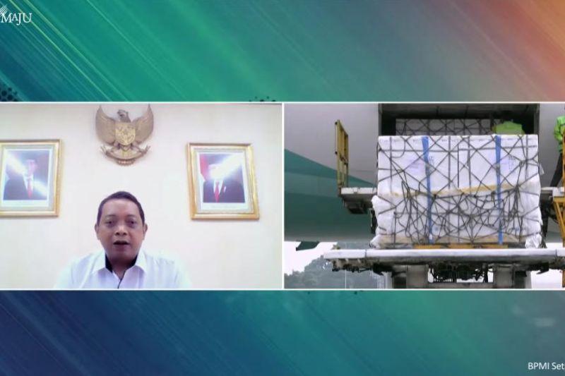 1.184 juta dosis vaksin Sinopharm tiba di Indonesia