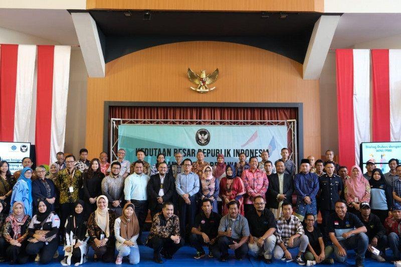 Dubes RI imbau pekerja migran Indonesia di Brunei agar patuhi hukum setempat
