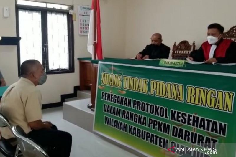 ASN di Cianjur didenda Rp100 ribu karena langgar PPKM darurat