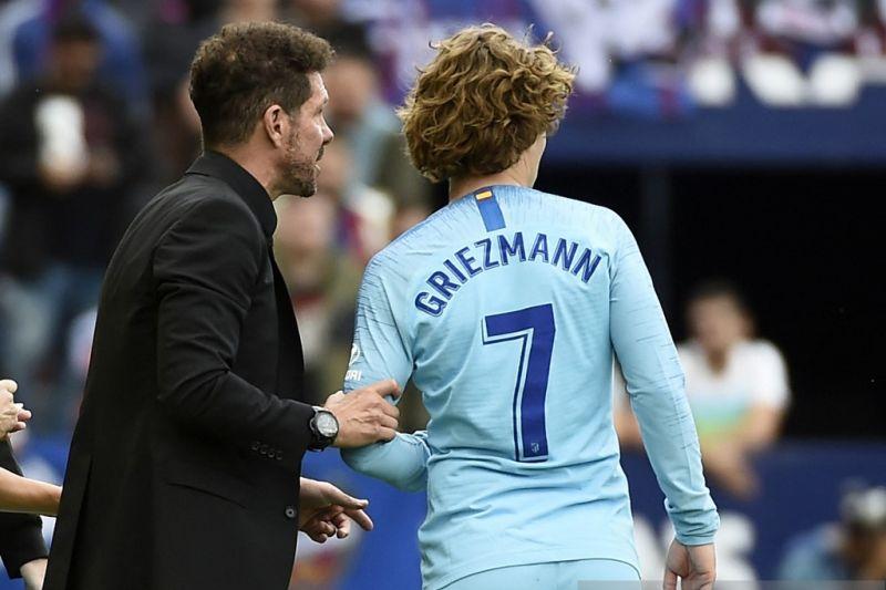Presiden Atletico Madrid buka peluang untuk pulangkan Antoine Griezmann