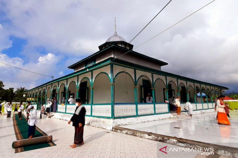 Masjid tertua Kaltara, saksi sejarah hingga badai pandemi