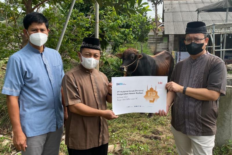 HK berikan hewan kurban kepada warga Korpri