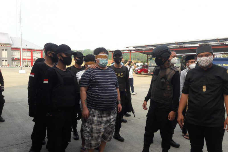 Dua napi bandar narkoba dipindah ke Nusakambangan