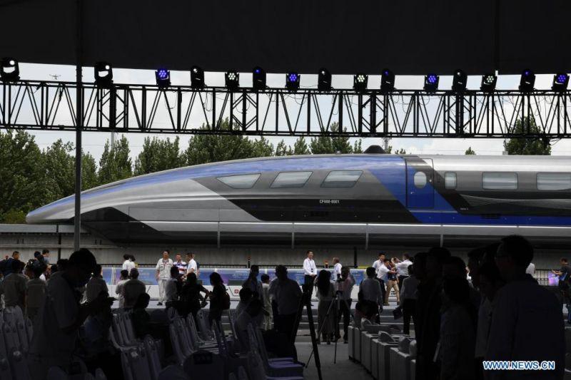 China punya kereta maglev 600 km per jam tercepat di dunia
