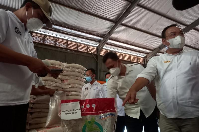 Sebanyak 181.377 KPM di Sulut terima beras PPKM 2021