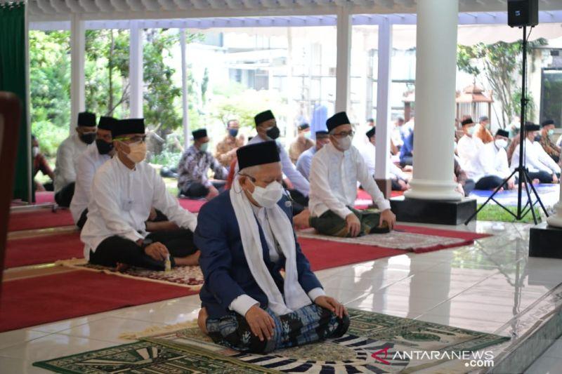 Wapres Ma'ruf Amin: Idul Adha identik dengan pengorbanan dan keikhlasan