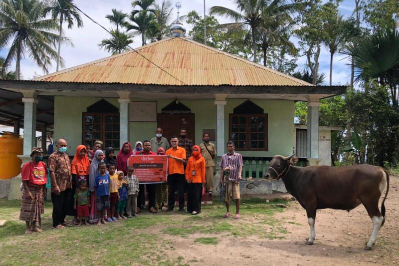 Mari Ber-Qurban di Tanah Timor NTT salurkan kurban di masjid pelosok