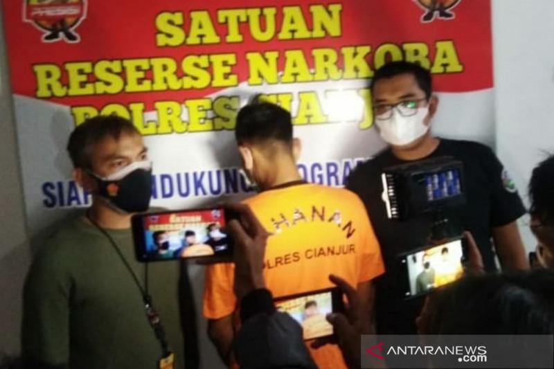 Bandar obat terlarang daftar G ditangkap Polres Cianjur