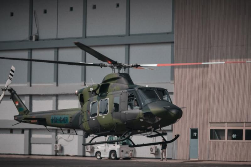 PTDI serahkan dua helikopter Bell pesanan Kemenhan