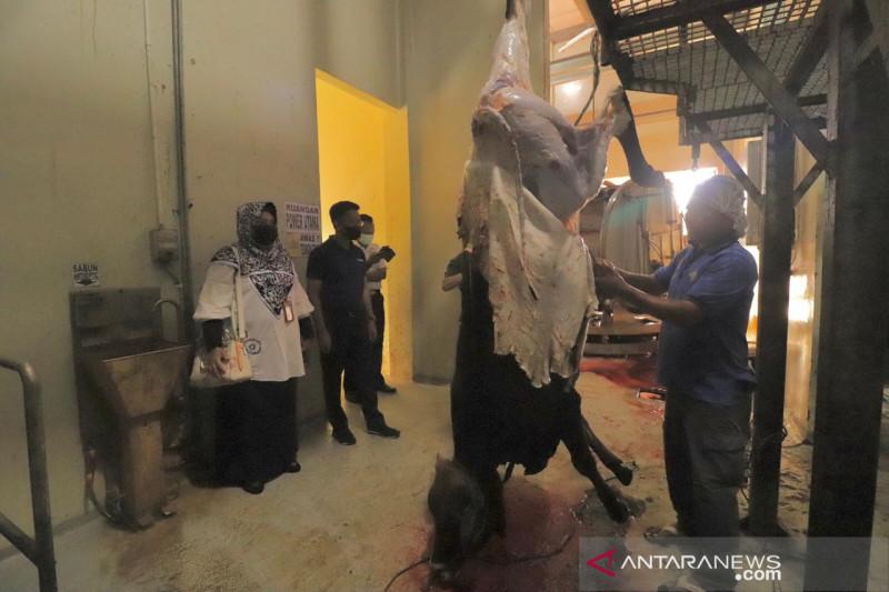 Sebagian daging kurban ASN Payakumbuh disiapkan sebagai cadangan bantuan bencana