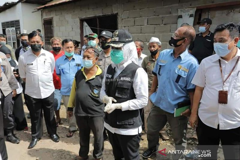 Dinsos Sumsel kerahkan 1.436 petugas  awasi bantuan beras PPKM
