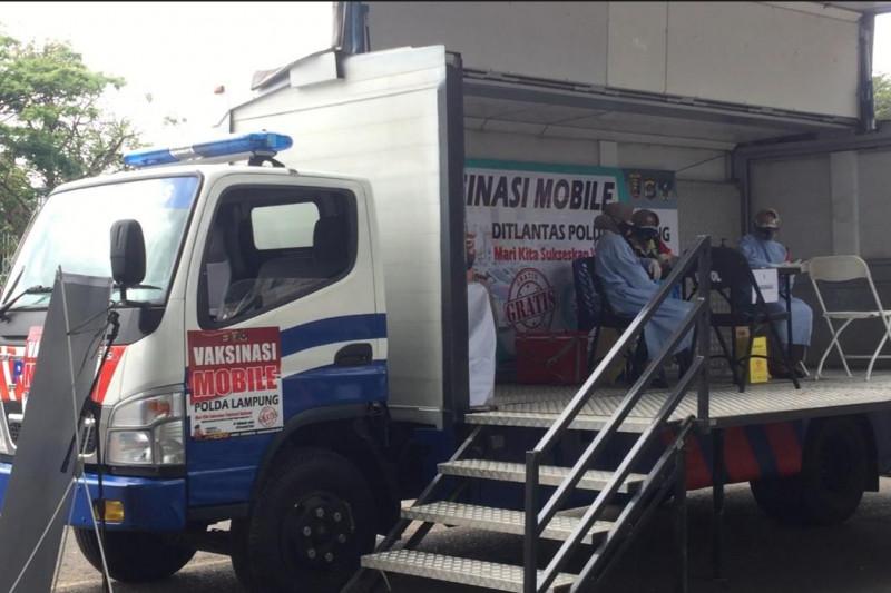 Pemkot Bandarlampung sebut tiga wilayah jadi sasaran mobil vaksin keliling