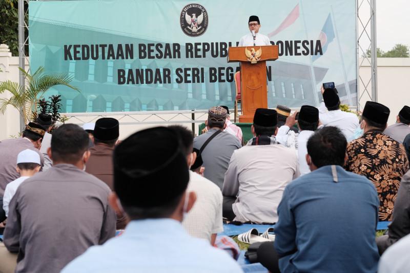 KBRI di Brunei gelar shalat Idul Adha Rabu pagi