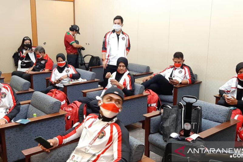 Total sudah 26 atlet Indonesia tiba di Tokyo