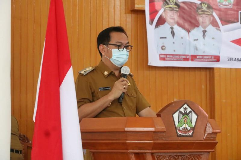 Pemkot Tomohon usulkan ranperda RPJMD ke legislatif