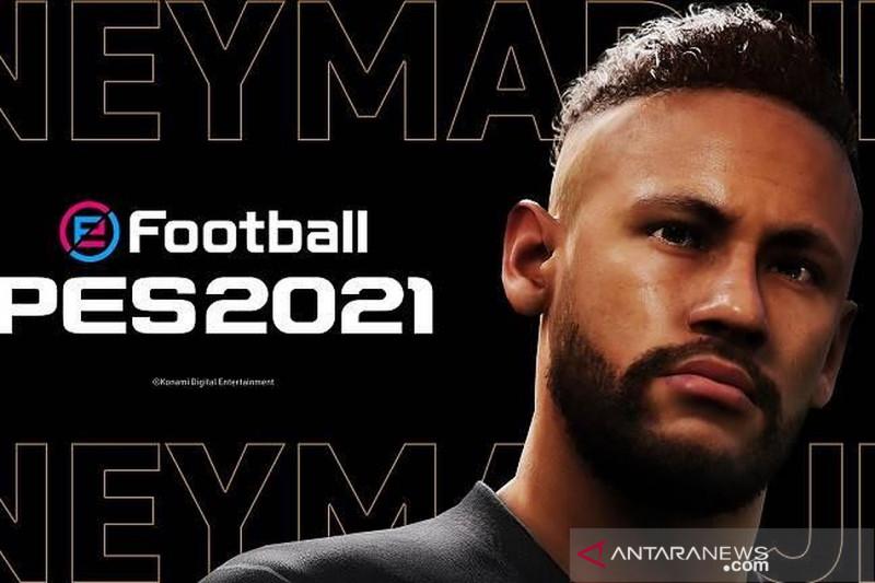 Perusahaan video game Konami tunjuk Neymar jadi duta merek PES 2021
