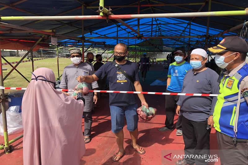 PT RAPP distribusikan 10.332 kantong daging di Idul Adha 1442 H