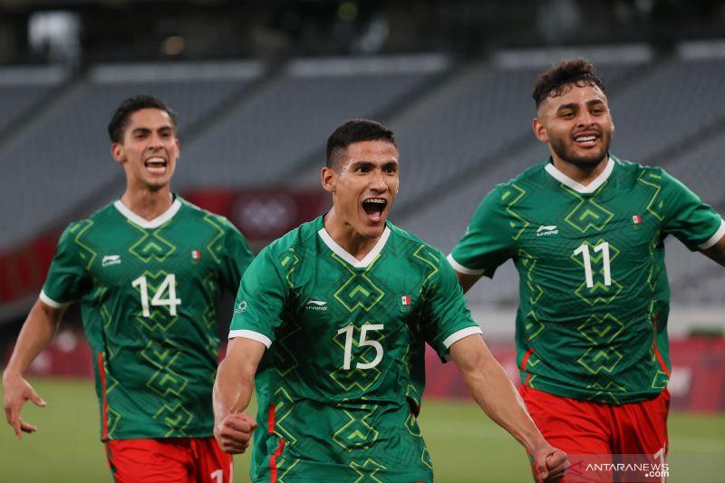 Prancis telan kekalahan telak 1-4 atas Meksiko di laga perdana Grup A Olimpiade