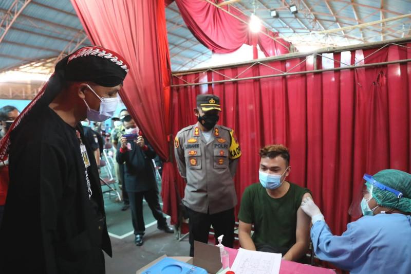 Ganjar Pranowo minta penanganan COVID-19 di Cilacap tidak lengah
