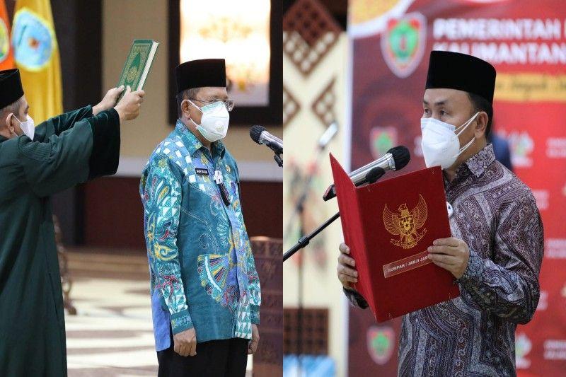 Nuryakin dilantik sebagai Penjabat Sekda Kalteng