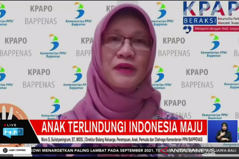 Bappenas sebut 28 persen populasi anak Indonesia terpapar COVID-19